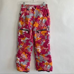 Girls Roxy Snowboarding pants size large pink